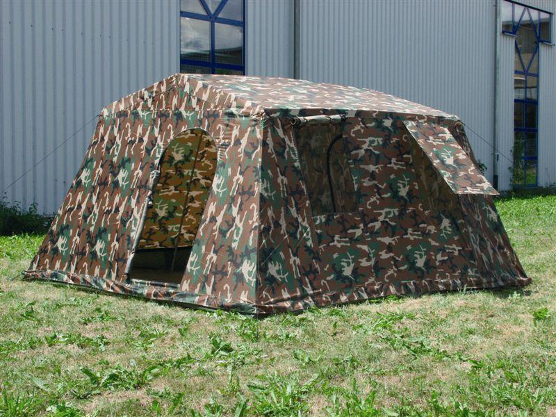 6 mann zelt armeezelt woodland camping zelten neu ebay. Black Bedroom Furniture Sets. Home Design Ideas
