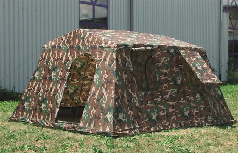 6 mann zelt armeezelt woodland camping outdoor. Black Bedroom Furniture Sets. Home Design Ideas